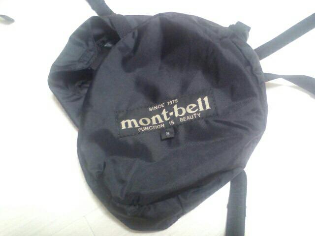 モンベル コンプレッションバッグ