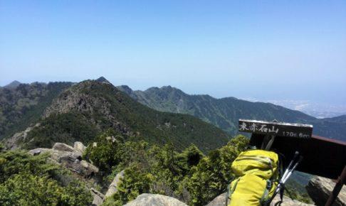 東赤石山 山頂
