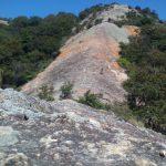 紅山 岩尾根