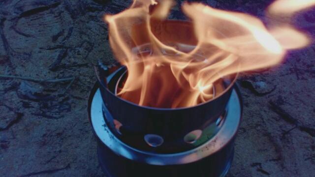 ネイチャーストーブ 二時燃焼