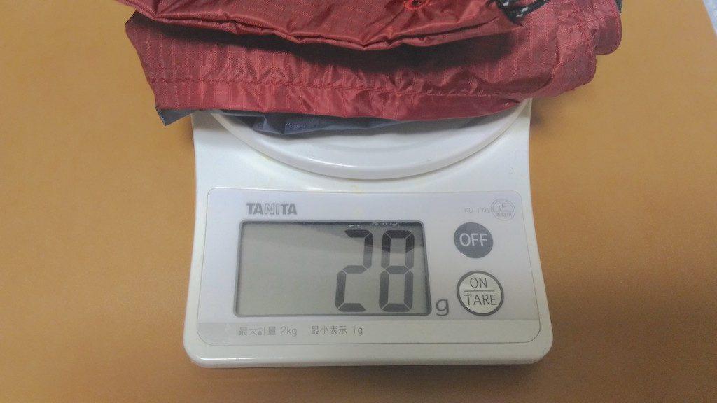 Sacoche−weight