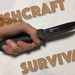 MORA KNIV−Bushcraft Survival Black