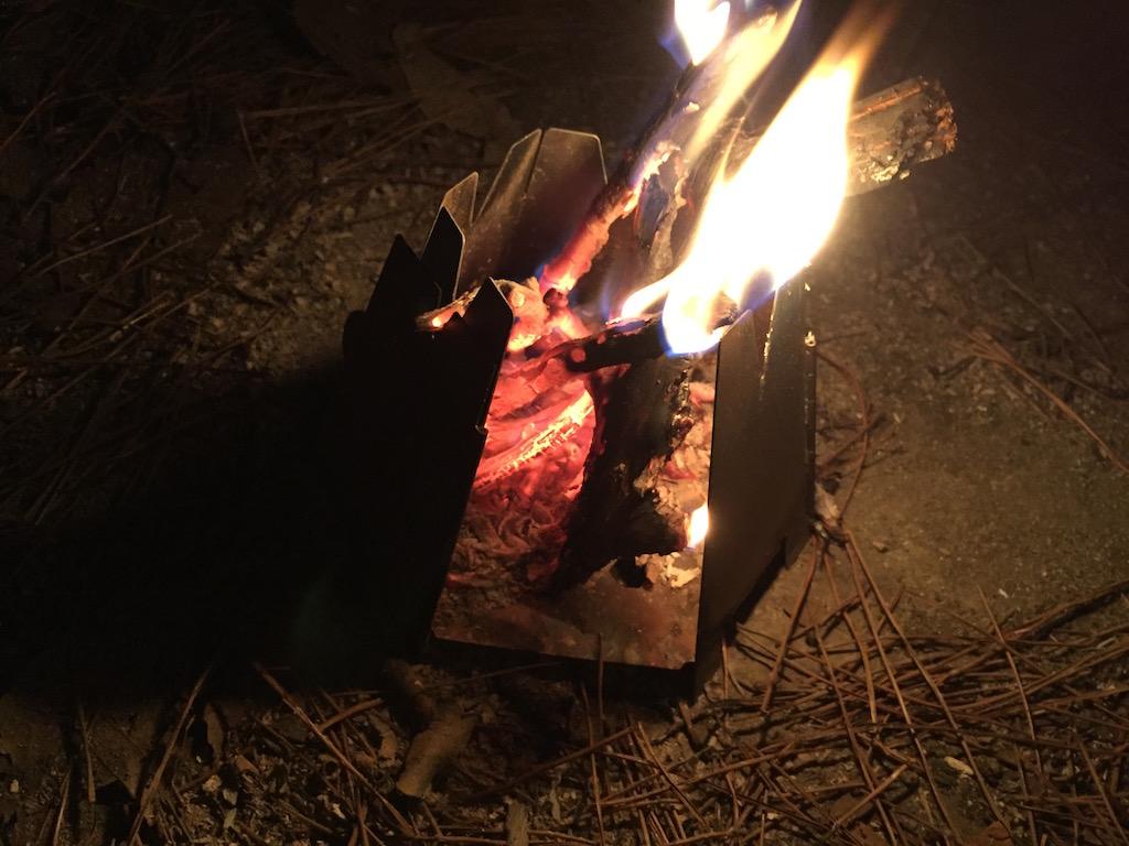 VARGO titanium wood stove